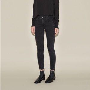Acne Studios Skin 5 Used Black Super Skinny Jeans